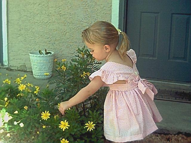 Picking Flowers by AthenaIce