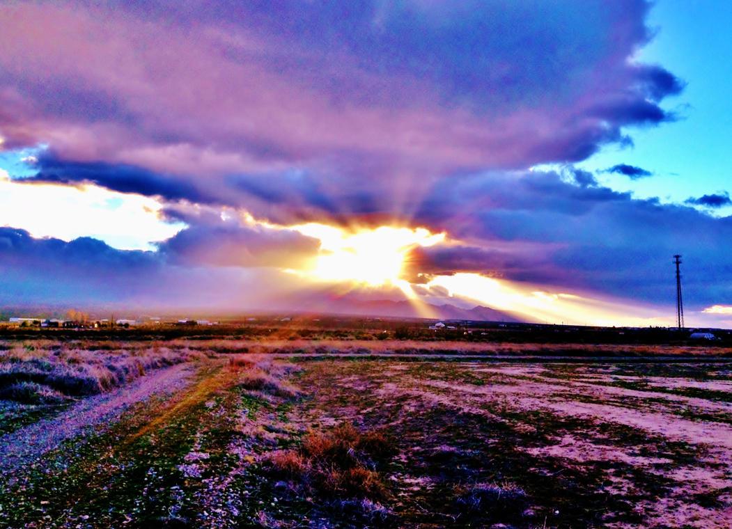 Colorful Sky by AthenaIce