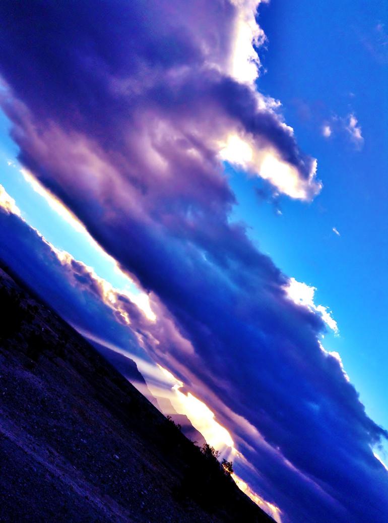 Tilting Sky by AthenaIce