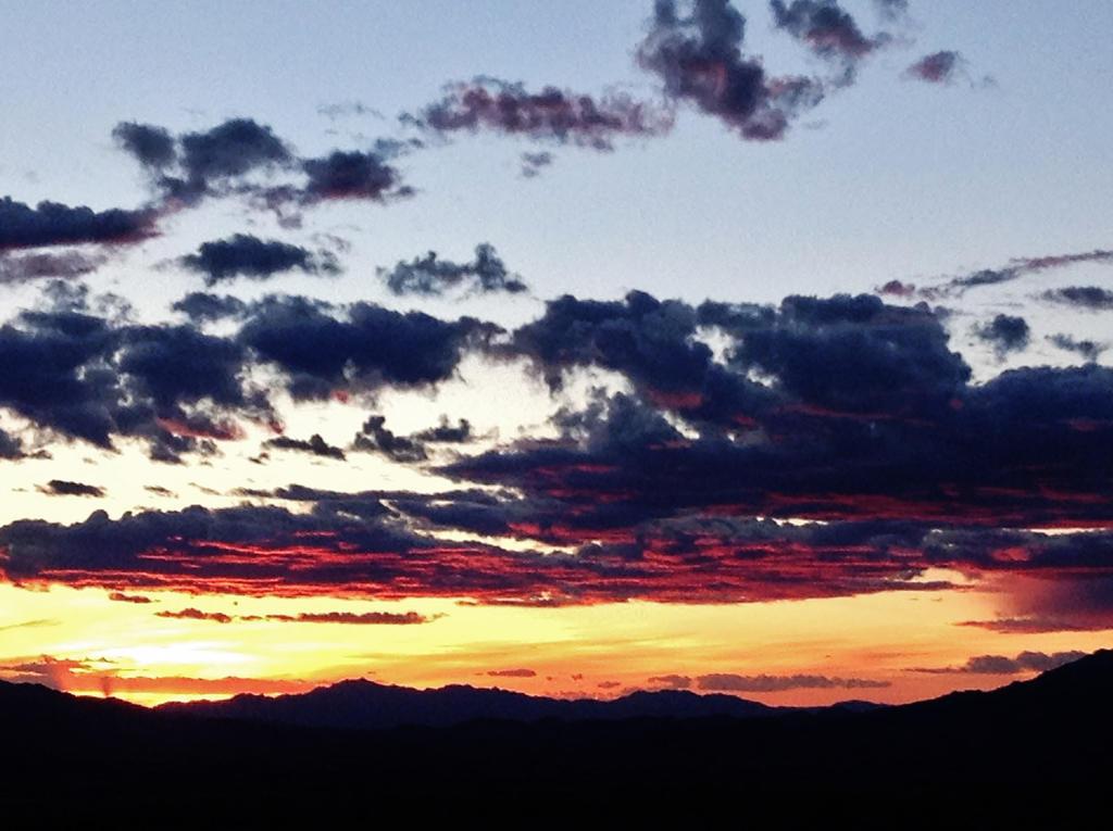 Red sky at Night by AthenaIce