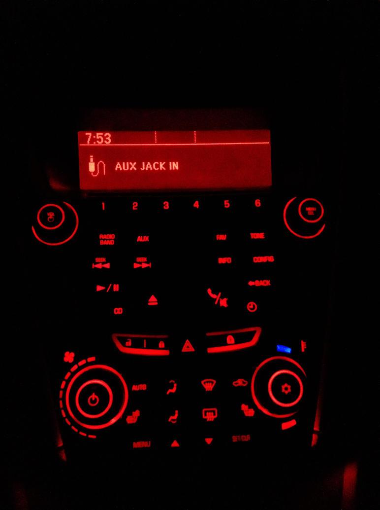 Radioactive Dash Board by AthenaIce