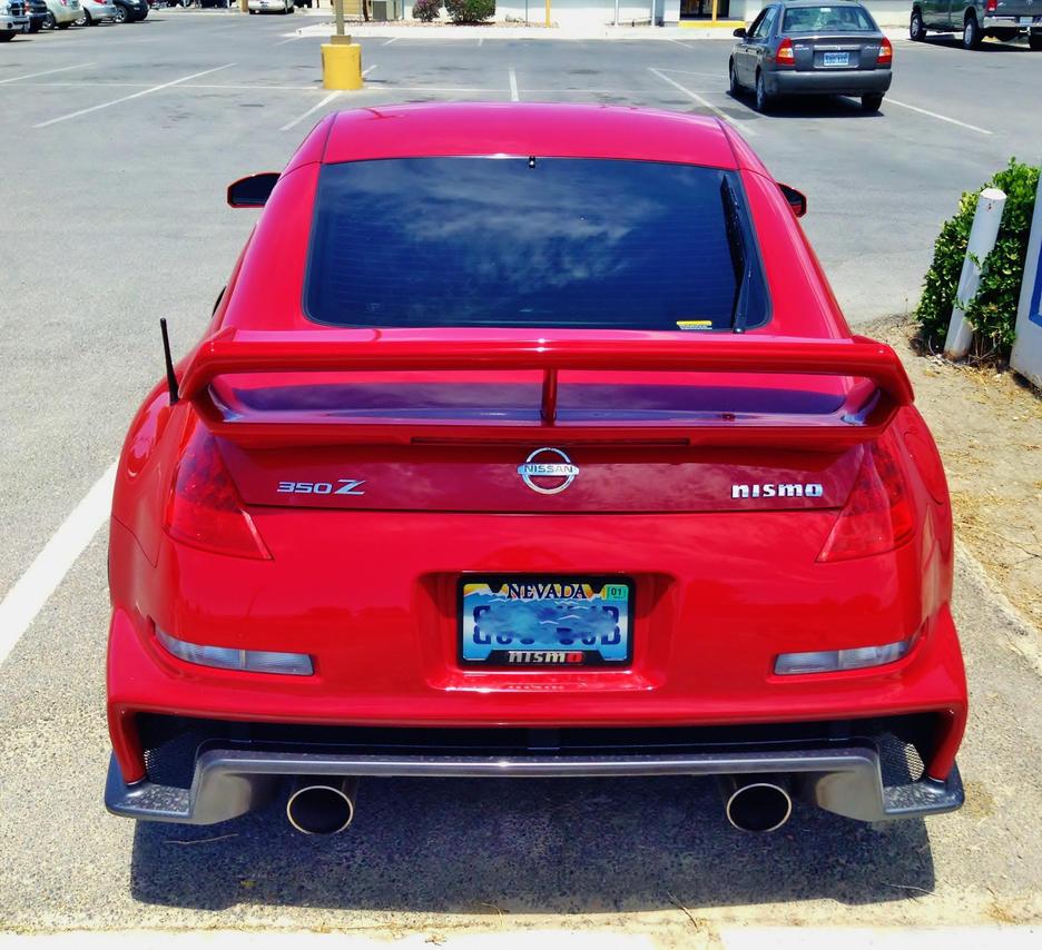 NISMO 350Z Nissan Rear by AthenaIce