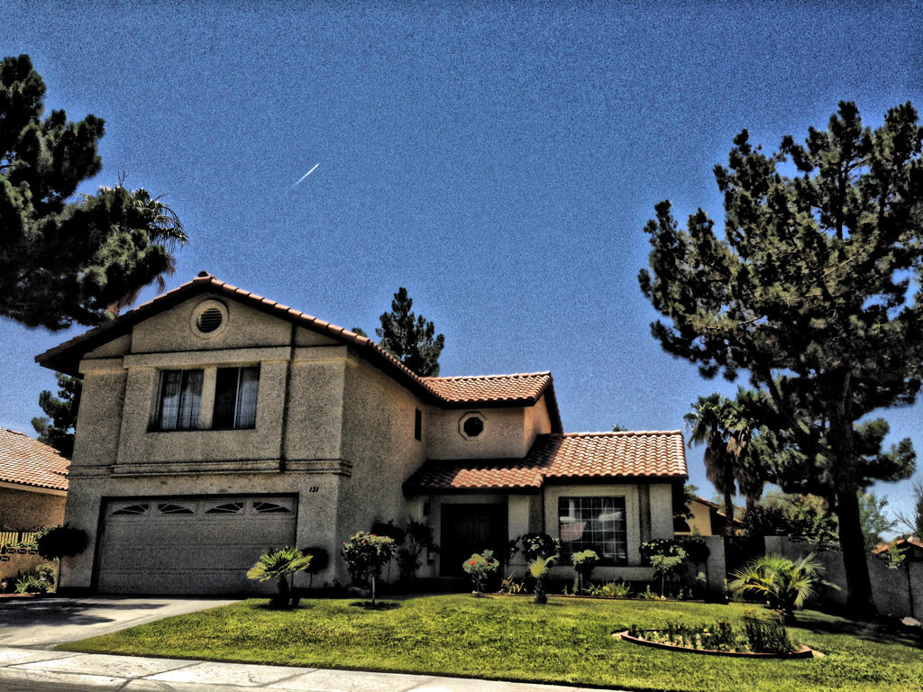 House in Las Vegas, NV - HDR by AthenaIce