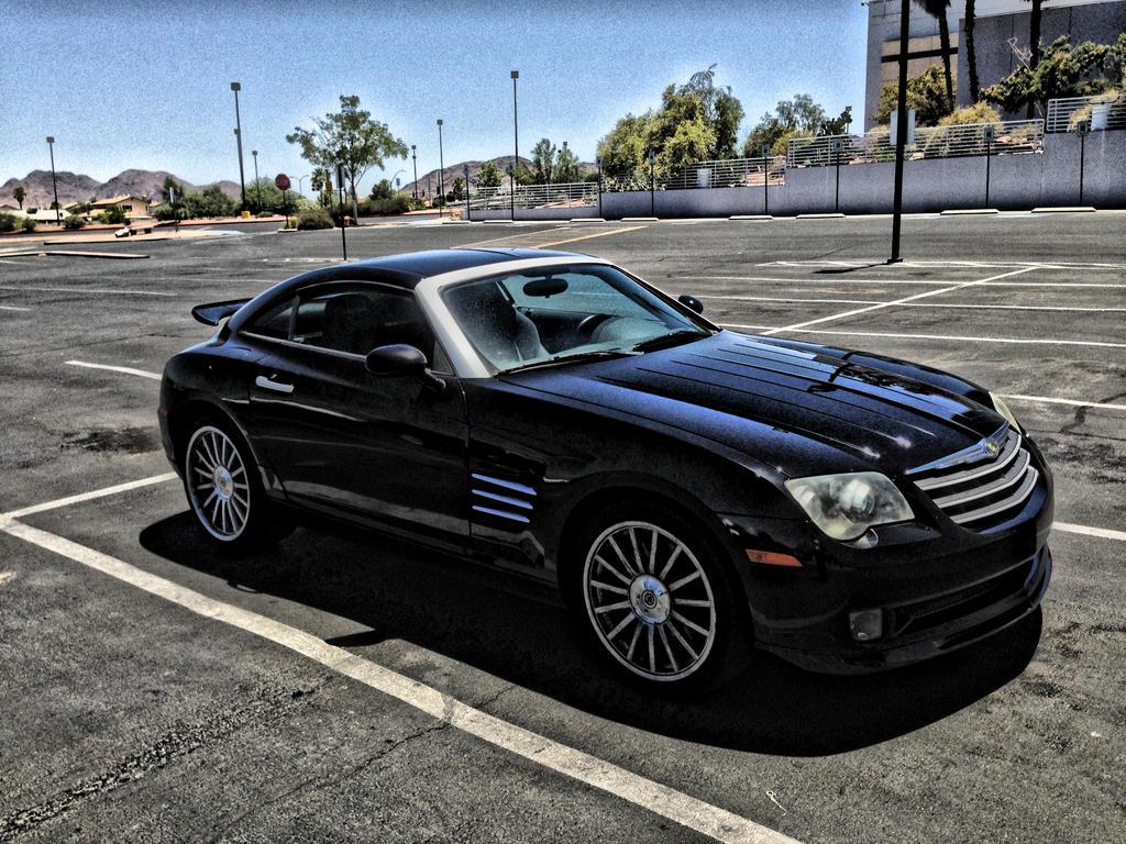 Black Chrysler Crossfire by AthenaIce