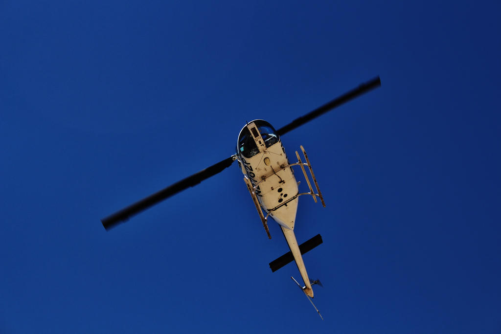 Helicopter by AthenaIce