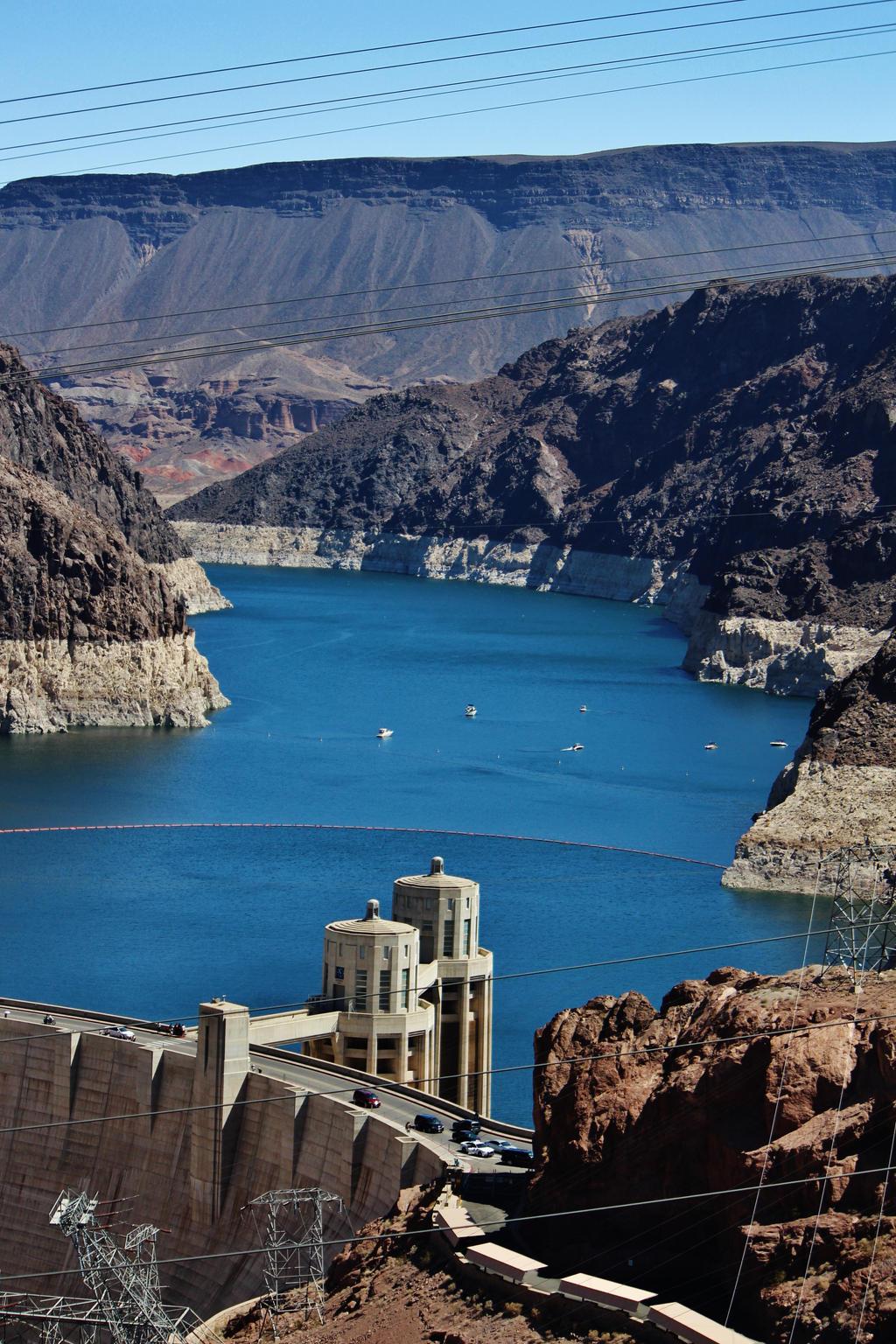Hoover Dam's Beauty by AthenaIce