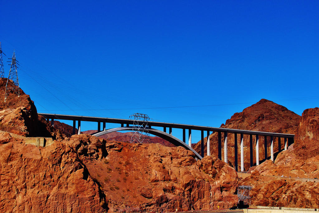 Mike O'Callaghan-Pat Tillman Memorial Bridge by AthenaIce