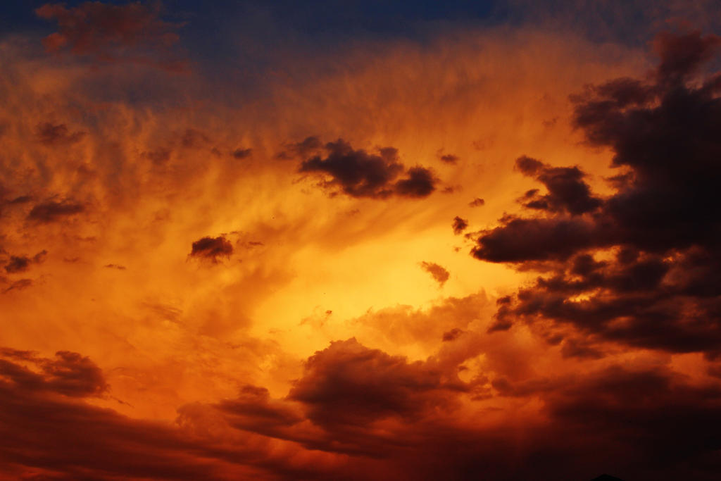Fire Clouds by AthenaIce