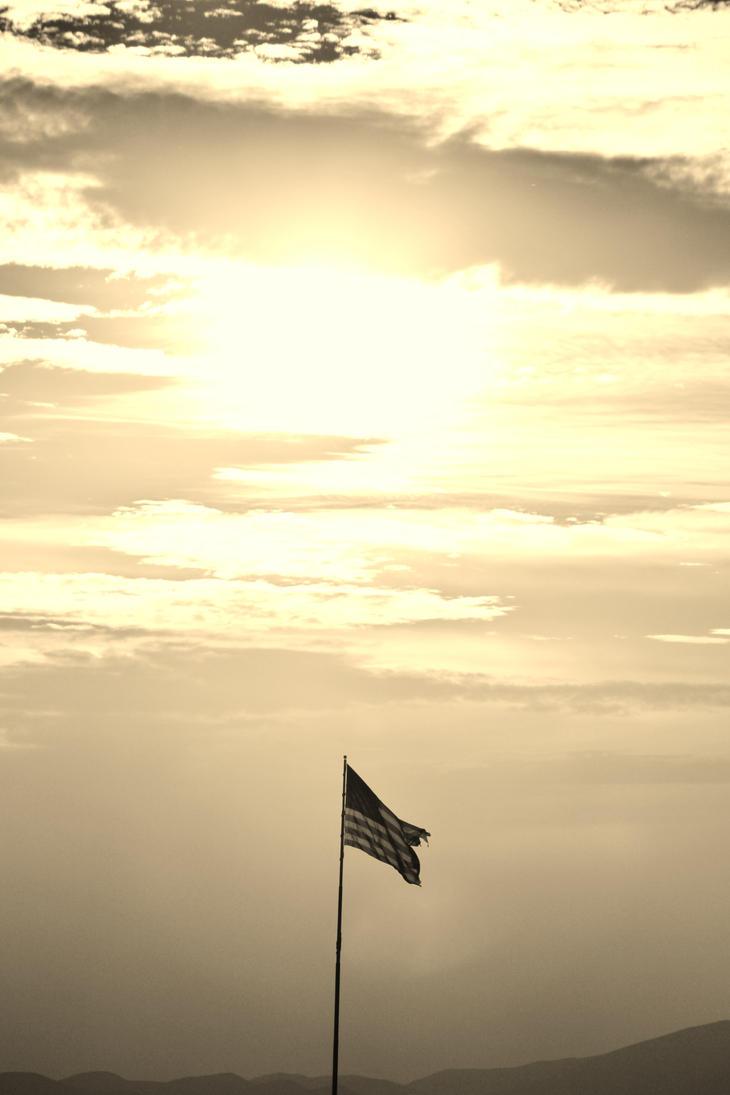 American Flag by AthenaIce