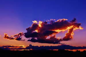 Sunset Burning by AthenaIce