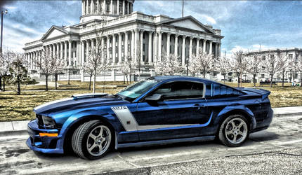 2007 427R ROUSH MUSTANG IN HDR