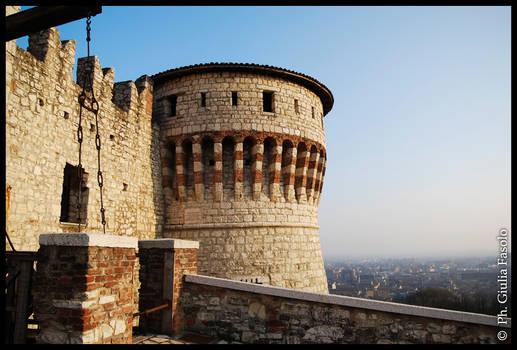 Brescia s castle
