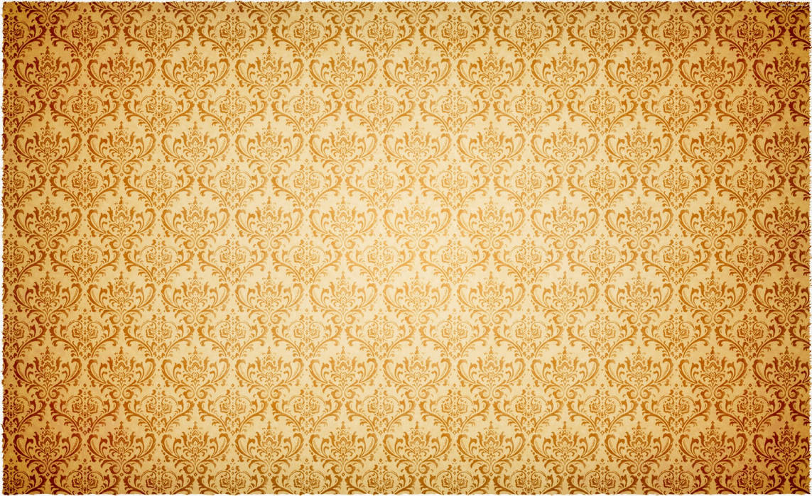 Gold vintage pattern by Leikoo