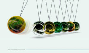 Ultimate Newtons cradle by Leikoo