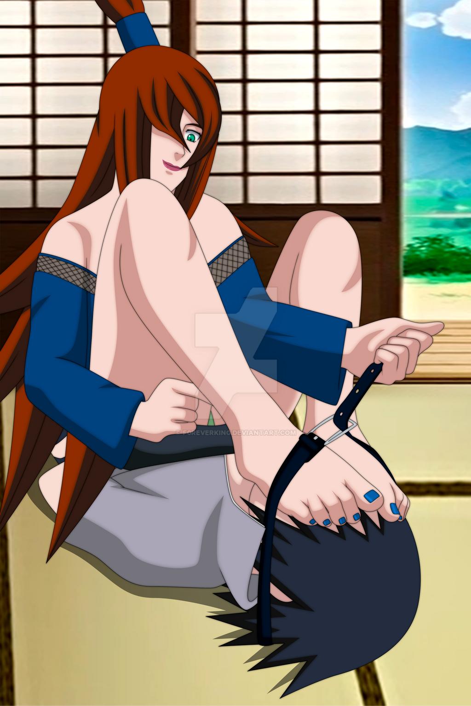Mei x Sasuke by F0reverKing on DeviantArt