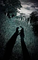 Hug  . Shadow hug. shadow love by Husckarl