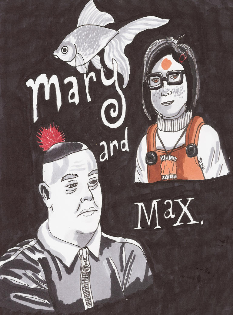 Mary and Max by RCWikkydArtist