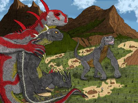 Giant Goobus Family (Colored)