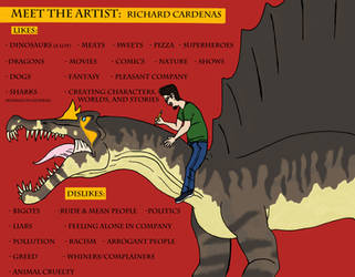 Meet the artist by RCWikkydArtist