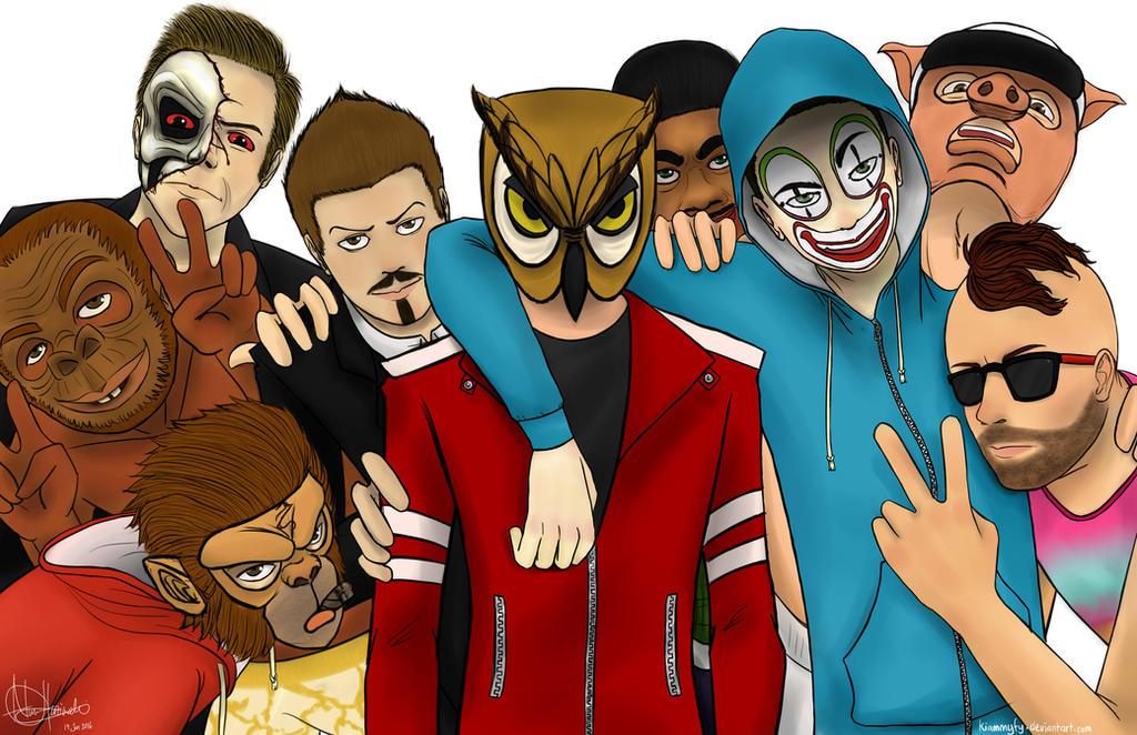 Vanoss and the crew