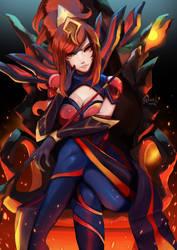 Elementalist Lux: Magma Fury by Renciel