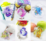 MLP Mane 6 Charms! by Renciel