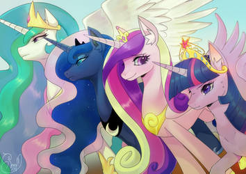 Princesses by Renciel