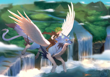Fly with me by Renciel