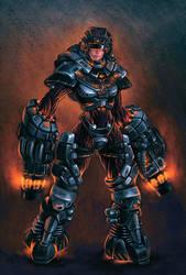 exoskeleton by Aberiu
