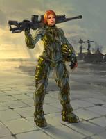 Sniper by Aberiu