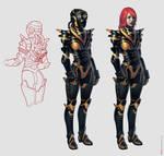 anti-gravity battle suit