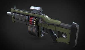 Komodo Shotgun 2 by Aberiu