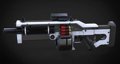 Komodo Assault Shotgun by Aberiu