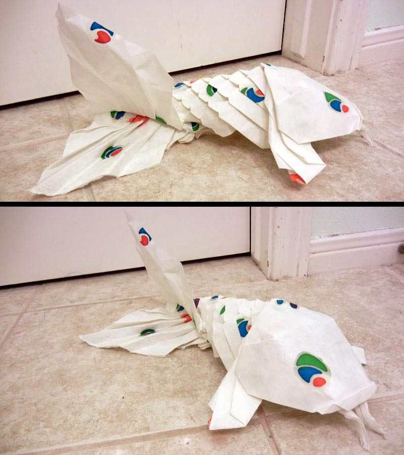 Origami Koi With Scales Diagram Online Schematic Diagram
