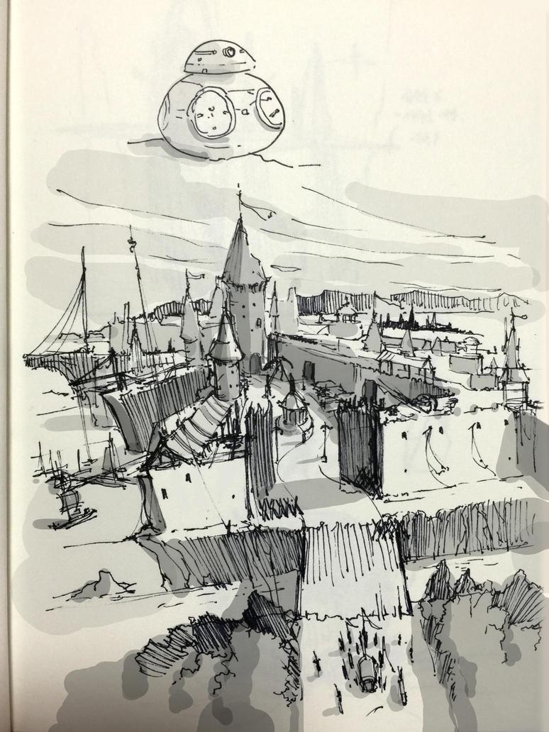 sketch by qmdjdj