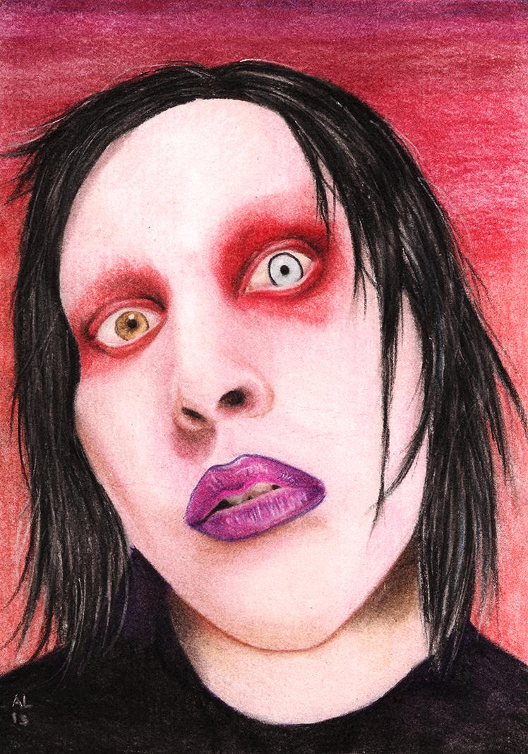 Marilyn Manson by ZaniAlessandra