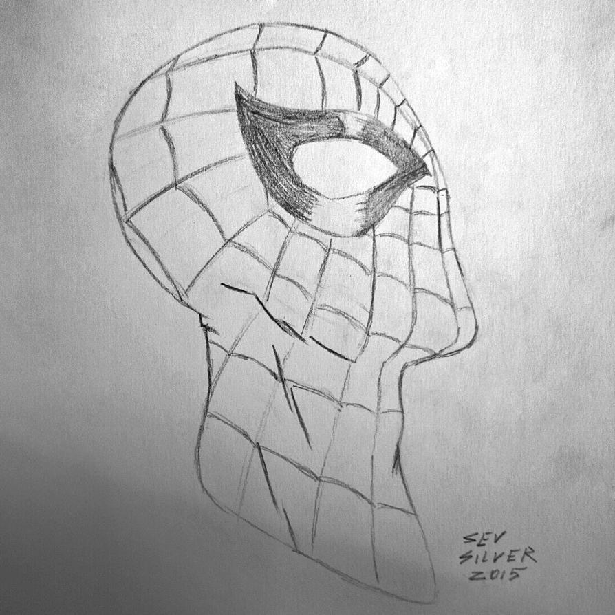 Spider man sketch by Silver2012