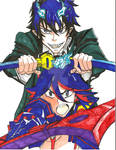 Rin and Ryuko