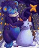 Makena's SnowPika by crystal-kyogre