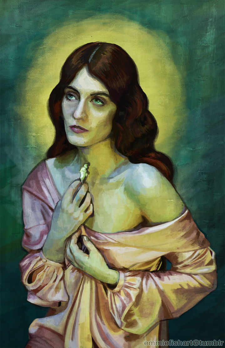 Florence Welch - Rendered by crystal-kyogre