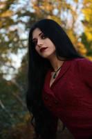 Stock - A Vampire Gazing by Mahafsoun