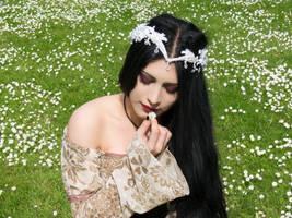 Gothic Garden - One Wish by Mahafsoun