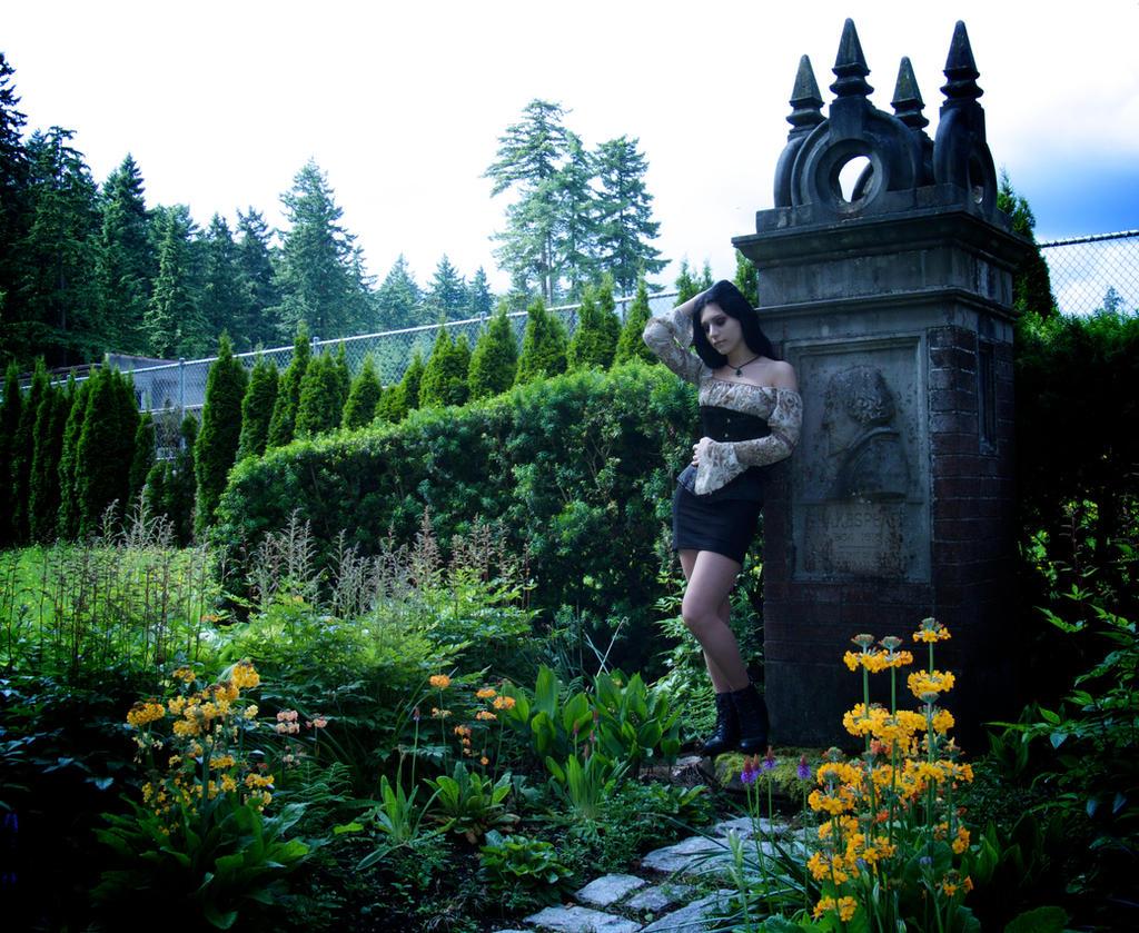 Beau Gothic Garden   Shakespeare By Mahafsoun Gothic Garden   Shakespeare By  Mahafsoun