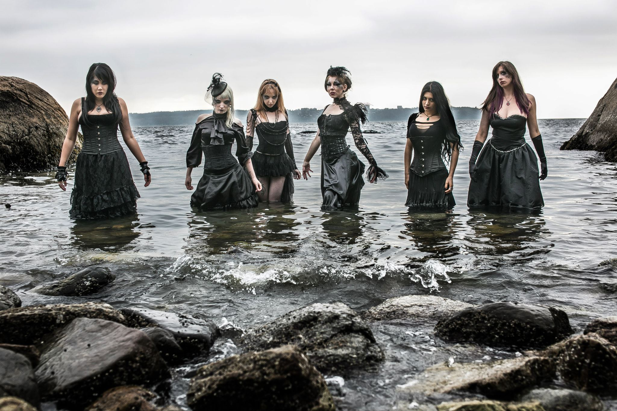 The Black Tide by Mahafsoun