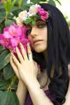 STOCK - Flower Lady