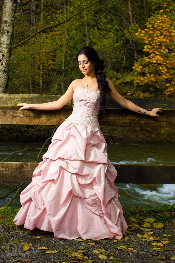 Forest Bride by Mahafsoun