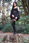 Stock - Gothic \ Fantasy - Forest Black