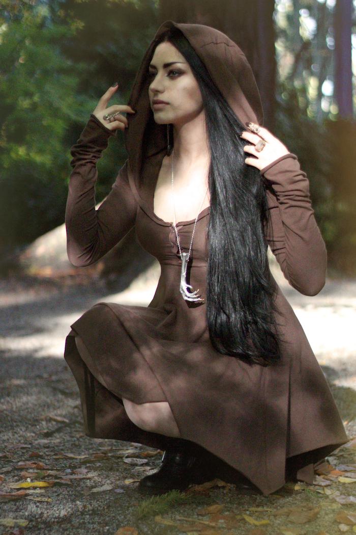 Autumn Witch by Mahafsoun