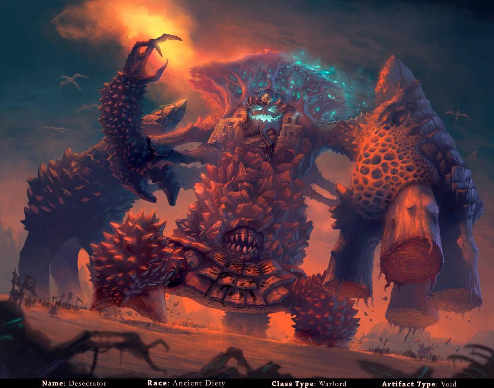 Dominance War III -Desecrator by ArtDoge