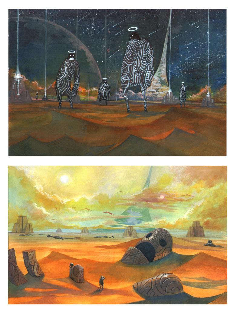 Lost Worlds by ArtDoge